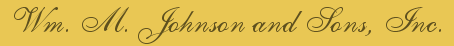 Wm. M. Johnson and Sons, Inc.